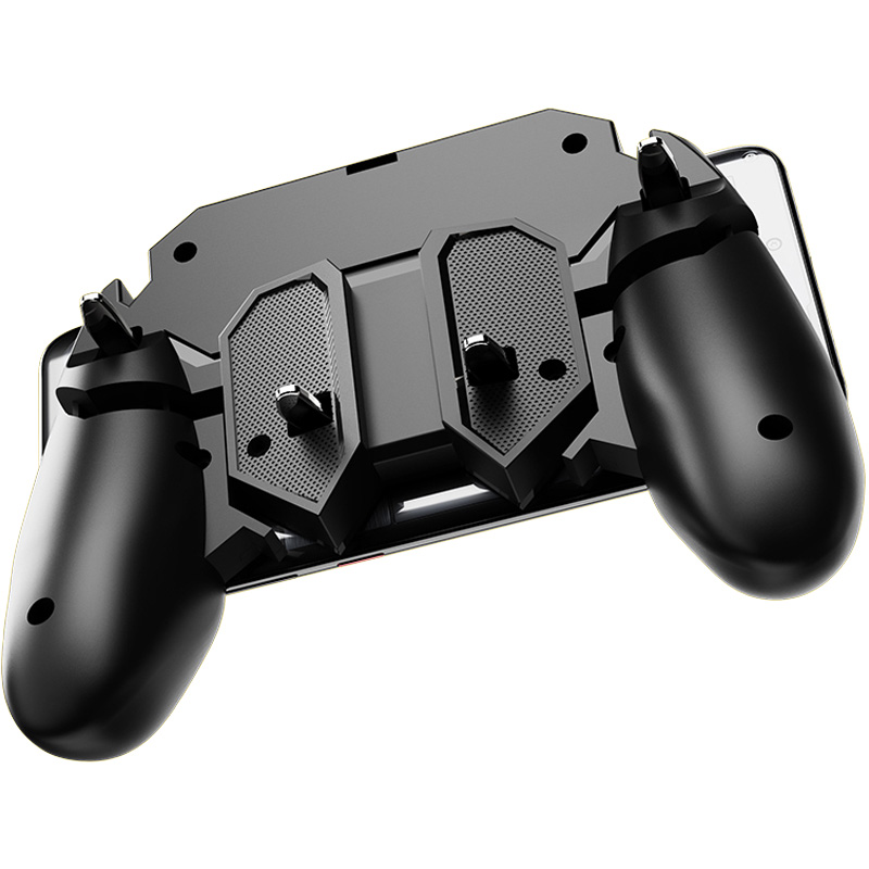 Image 3 - ShirLin AK66 6 Fingers Trigger Gamepad Shooter Joystick Gamer Joystick Gamer Controller with for PUBG Smartphone Phone Control-in Gamepads from Consumer Electronics
