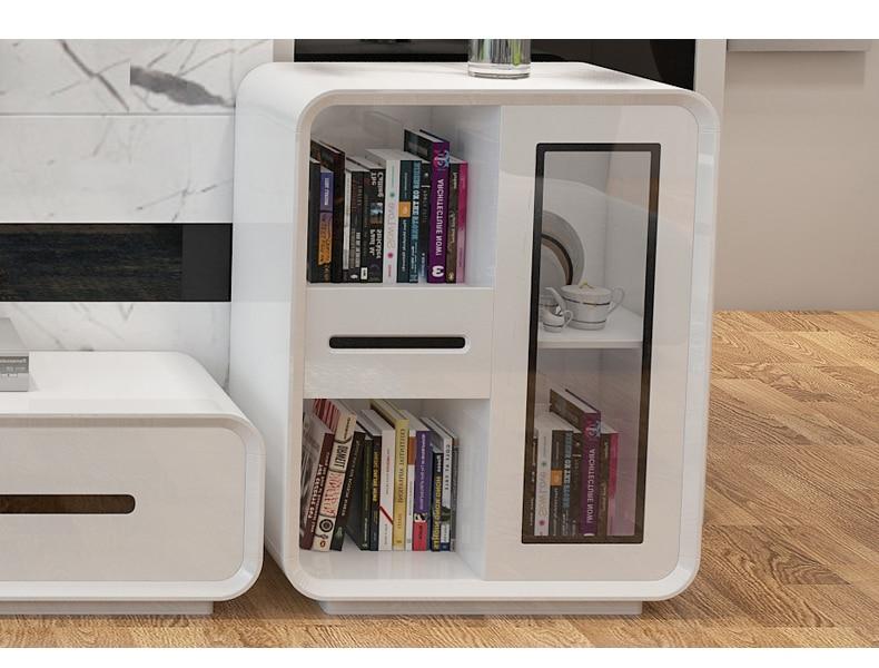 Meuble en bois design meuble TV salon moderne meubles de maison meuble tv moniteur LED meuble tv mueble meuble tv mesa table TV