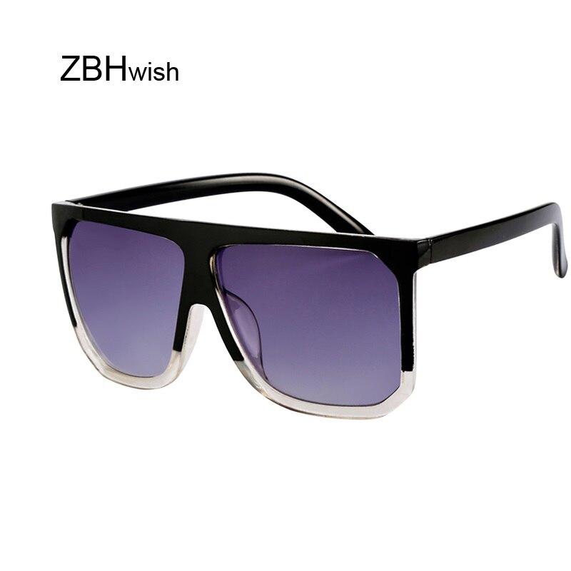 Flat Top Mirrored Sunglasses Women Brand Designer Vintage Luxury Sun Glasses Female Square Sunglasses Oculos De Sol