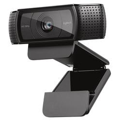 Logitech HD Pro Webcam C920e, Widescreen Video Chiamata e La Registrazione, Macchina Fotografica 1080 p, desktop o Laptop Webcam, C920 versione di aggiornamento
