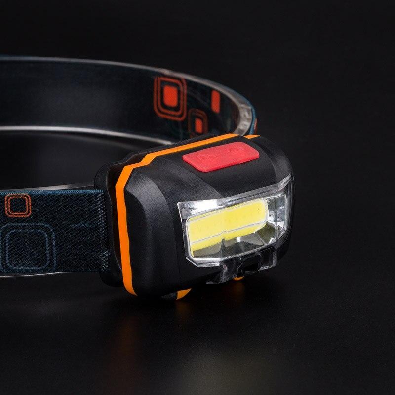 Mini IR Sensor Scheinwerfer Induktion USB Aufladbare Scheinwerfer LED Kopf Taschenlampe Eingebaute 2000 mah Batterie -- WWO66