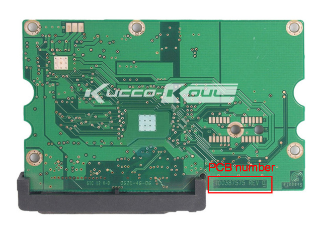 Жесткий диск части PCB логическая плата печатная плата 100387575 для Seagate 3.5 SATA жесткий диск восстановления данных жесткий диск ремонт