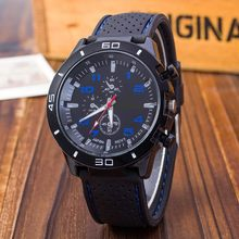 New Watch Men Military Quartz Watch Mens Watches Top Brand Fashion Silicone Sports Wristwatch Hour Clock relogio masculino(China)