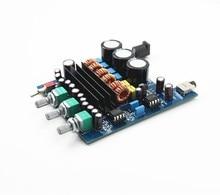Envío libre 2.1 de Alta Potencia Del Amplificador 50 w + 50 W + 100 W Subwoofer Amplificador Digital HIFI Verst TPA3116 tablero de alta calidad