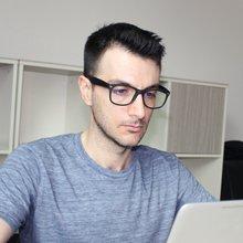 Компьютерные очки унисекс с защитой от синего спектра ретро
