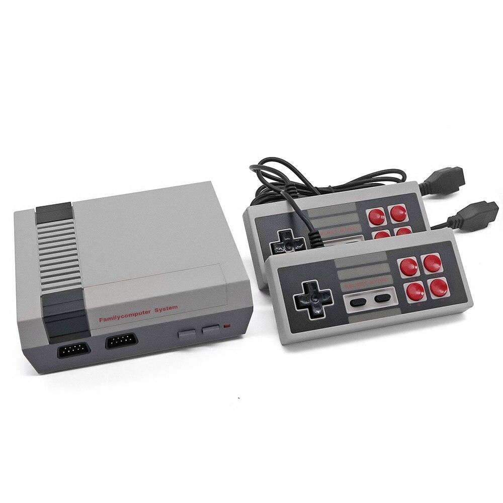 AV Порты и разъёмы мини ручной ретро классические игры Семья ТВ игровой консоли детства двойной геймпад в комплекте с 620 игры