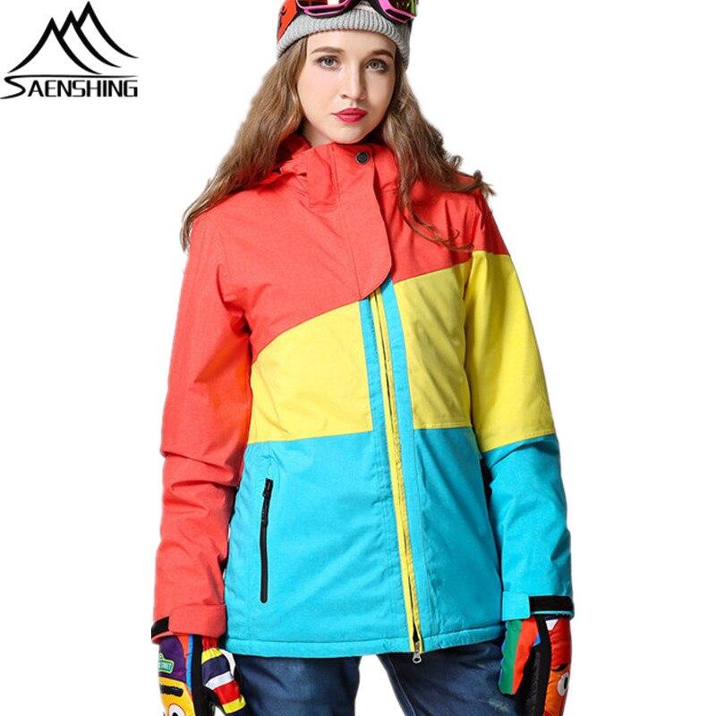 Saenshing Einfache Winter Jacke Marke Stil Frauen wnOk0P