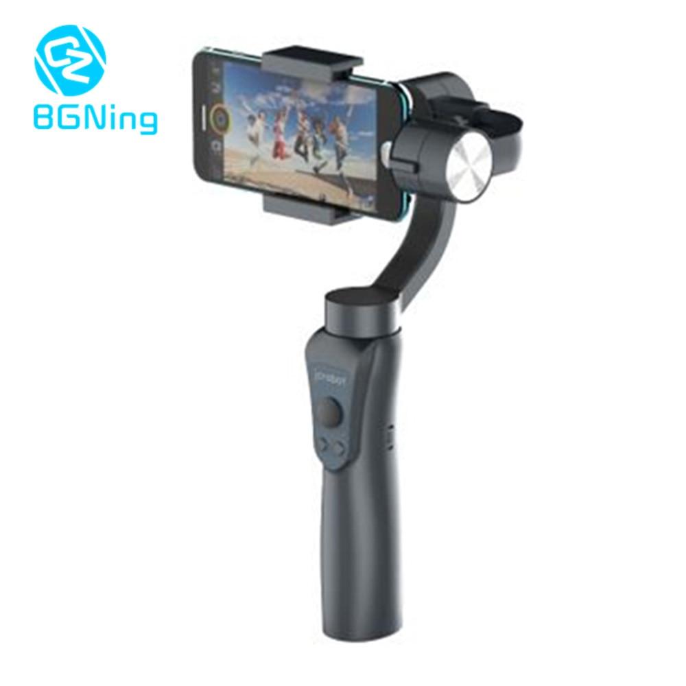 3-axis Mobile Phone Stabilizer Selfie Stick Anti-shake Live Shooting Handheld Gimbal support Gopro Camera PK Zhiyun FeiyuTech