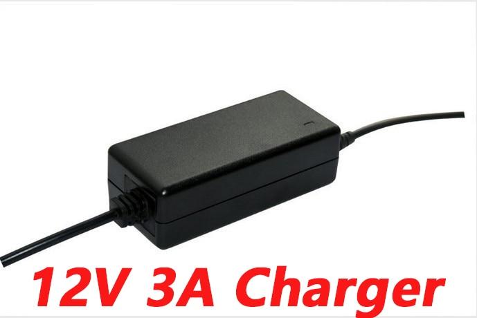HK Liitokala 12.6V 3A power charger,12.6V charger for CCTV battery pack,3A charger for 12V lithium battery 12V battery charger