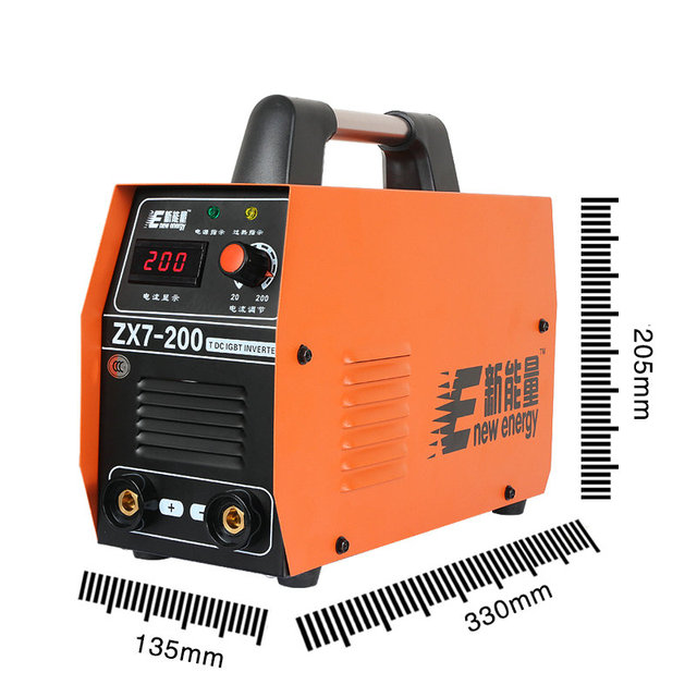 Home inverter DC MMA Medium welding machine ZX7-200 portable welding tool /4.0mm/3.2mm electrode / equipment welding