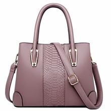 genuine leather tote bag fashion women handbag female large shoulder crossbody bags high quality solid handbag bolsa feminina цена 2017