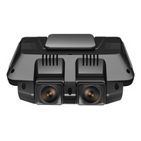 Ecartion 2,7 Мини Видеорегистраторы для автомобилей спереди и сзади Камера FHD 1080 P + FHD 1080 P автомобиля Камера Wi Fi видео регистраторы Ночное видение
