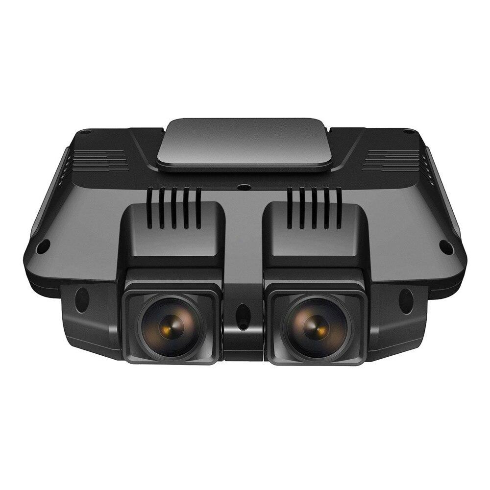 Ecartion 2.7 Mini Voiture DVR Avant Et Arrière Caméra FHD 1080 p + FHD 1080 p Voiture Caméra Wifi vidéo Enregistreur de Vision Nocturne Caméscope
