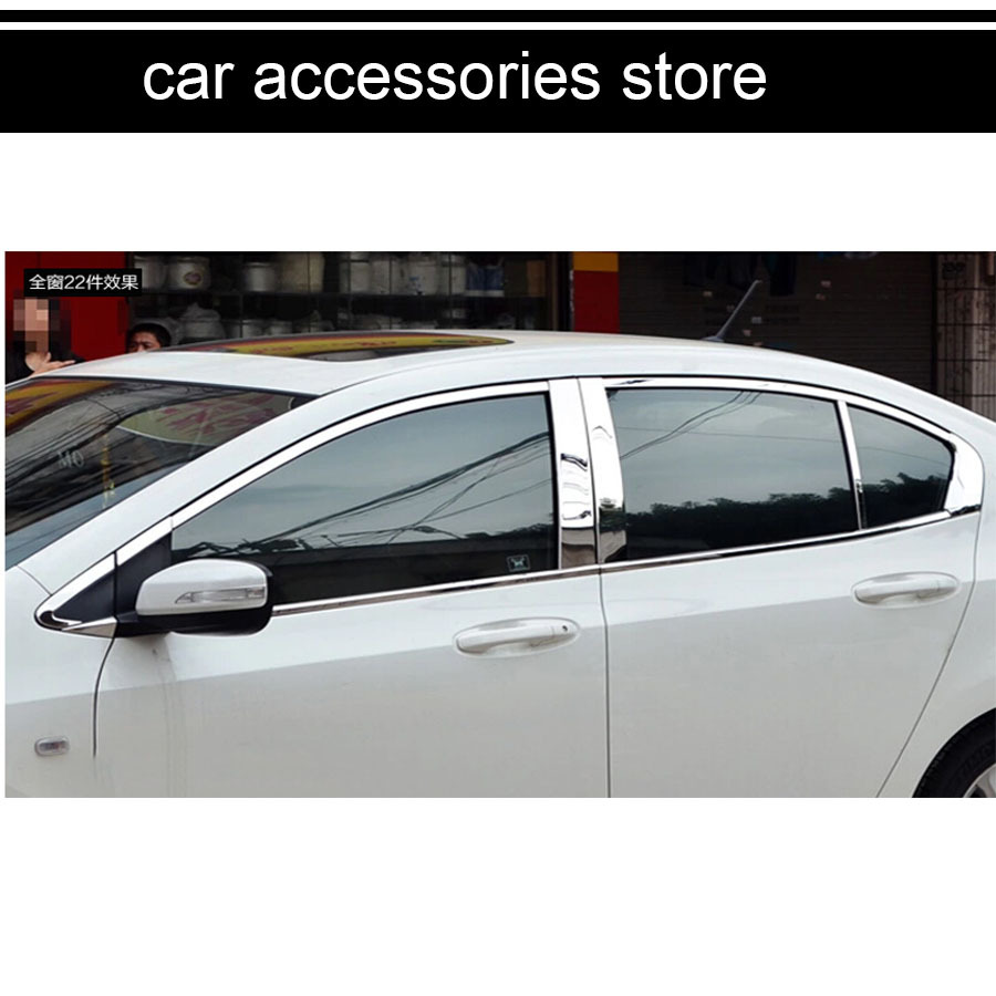 Free Shipping Car Window Chrome Trim Decoration Car Styling For Honda City  5th Generation 2008 2009 2010 2011 2012 2013 On Aliexpress.com | Alibaba  Group