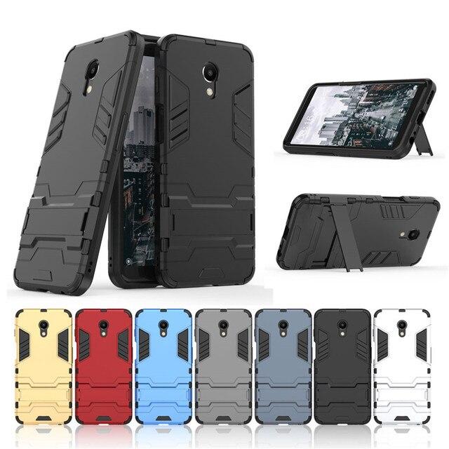 For Meizu M6 M5 M3 mini M6S mblu S6 M5C M5S M3S Note 6 3 5 PC + Silicone Anti Shock Armor Case For Meizu M 6 3 5 S C mini Cover