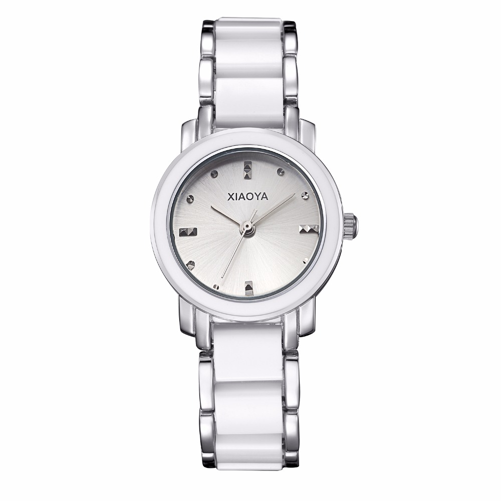 XIAOYA luxury Fashion Women's watches quartz watch bracelet wrist watches stainless steel bracelet women watches with Gift