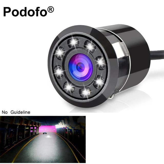 Podofo Waterproof Car Backup Camera HD Color CCD Rear View Camera ...