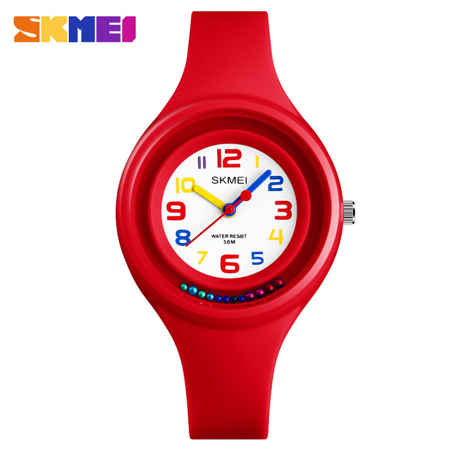 2018 SKMEI Fashion Casual Children Watches 50M Waterproof Quartz Wristwatches Je