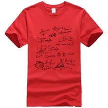 Super geek TBBT-inspired Math Formulas t-shirt