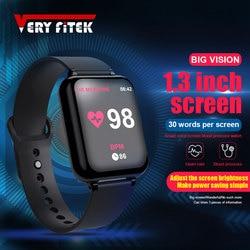 VERYFiTEK AW4 Intelligente Vigilanza Del Braccialetto di Vigilanza di Forma Fisica di Pressione Sanguigna di Ossigeno Monitor di Frequenza Cardiaca di IP67 Donne Degli Uomini di Sport Smartwatch