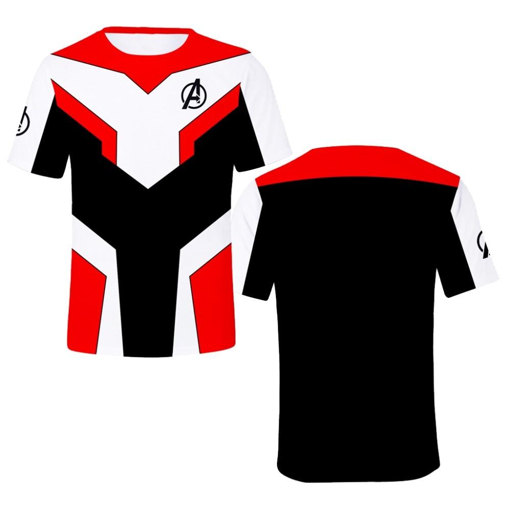 2019 Kids Summer t shirt Men Movie Avengers Endgame 3D Printed T shirt Sweatshirt Pullover superhero dragon ball z iron man tee in T Shirts from Men 39 s Clothing