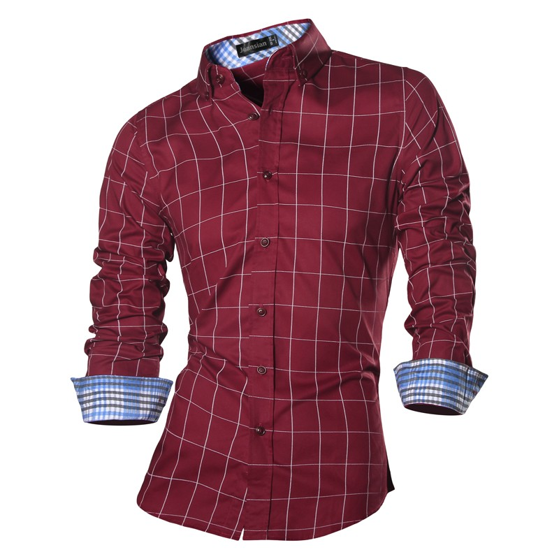 8b3956371 2017 Spring Autumn Features Shirts Men Casual Jeans Shirt New ...