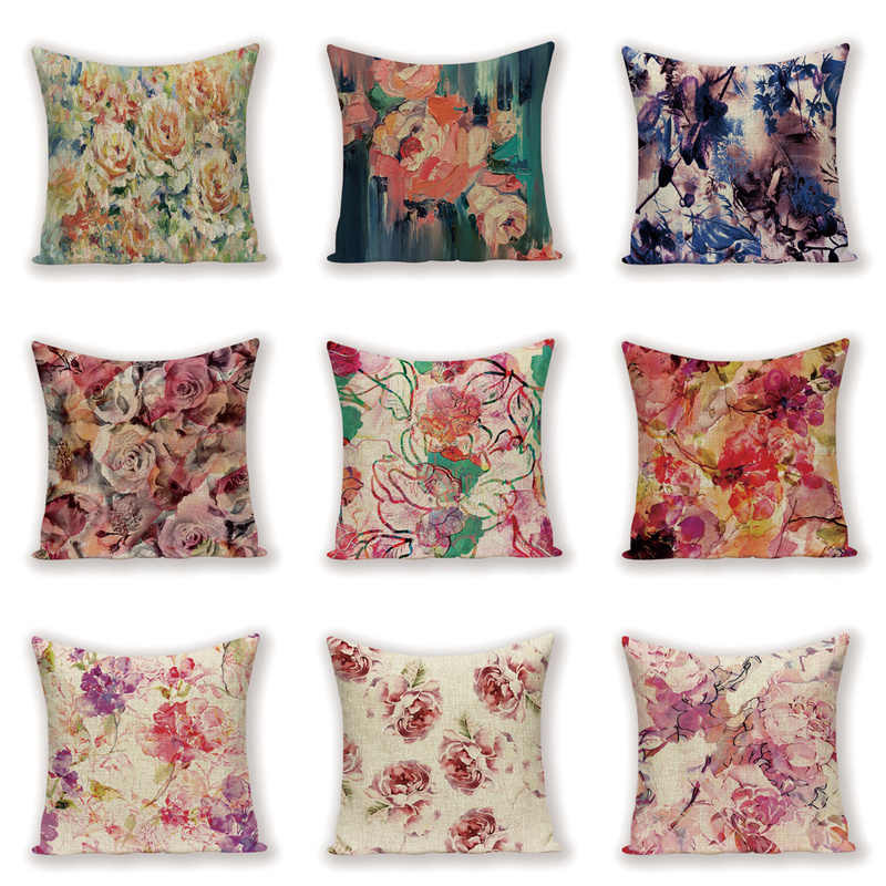 Shabby Chic Throw Pillow Covers