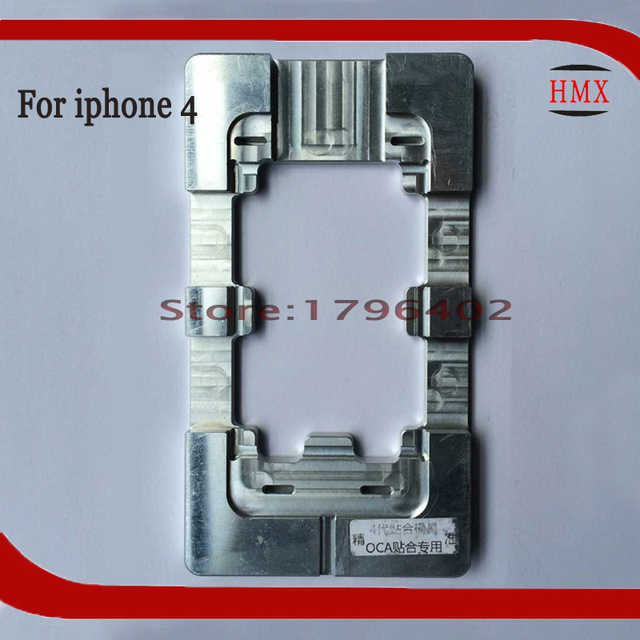 Precision aluminium alignment mold for iphone 4g 4s refurbish broken deformation glass screen highly frame fixer Alignment mould-in Mobile Phone LCDs ...