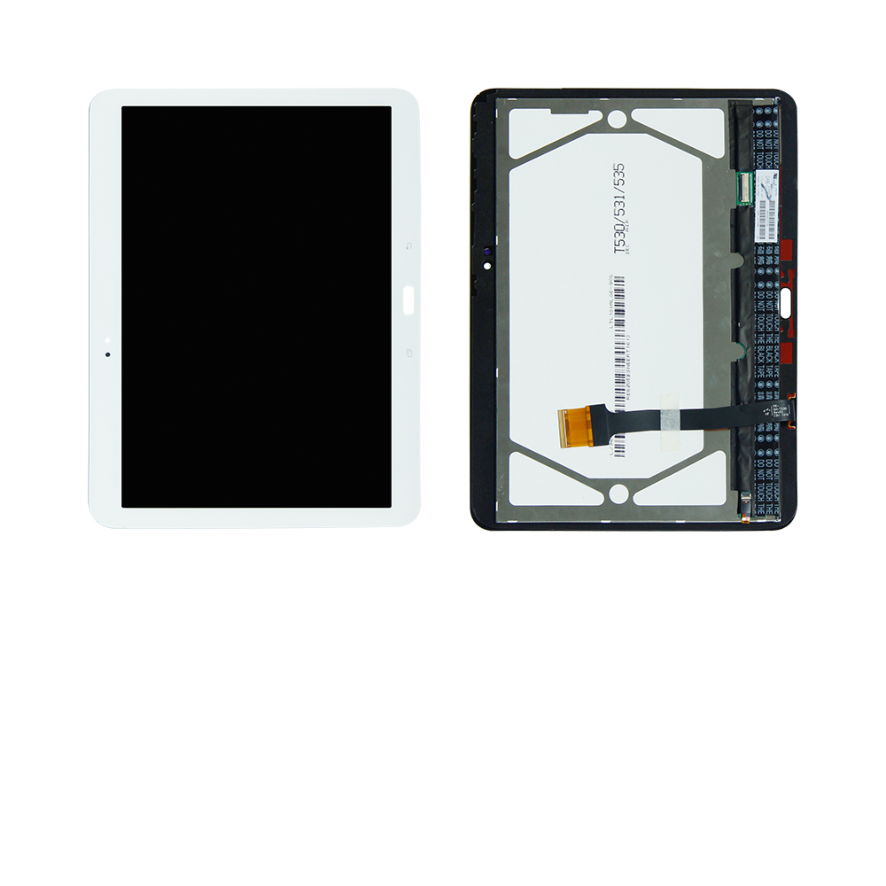 где купить For Samsung Galaxy Tab 4 10.1 SM-T530 T530NU SM-T537 Touch Screen Digitizer Glass Lcd Display Assembly Replacement Free Shipping дешево