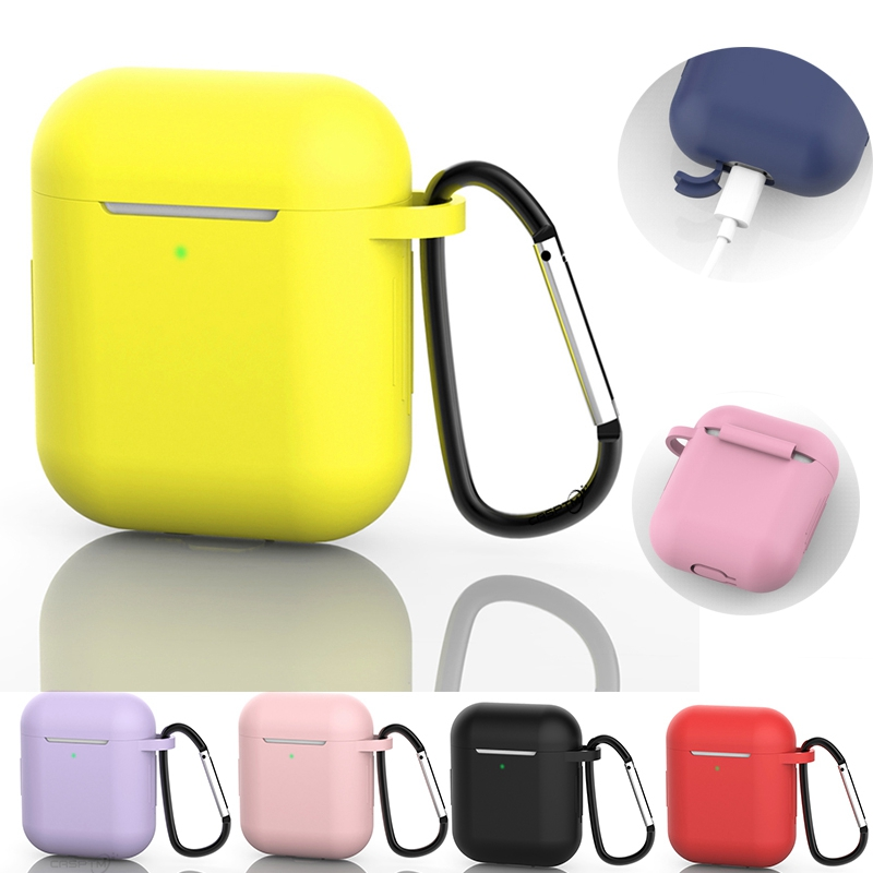 Casptm For Airpods Case Slicone Protective Cover Bluetooth Headset