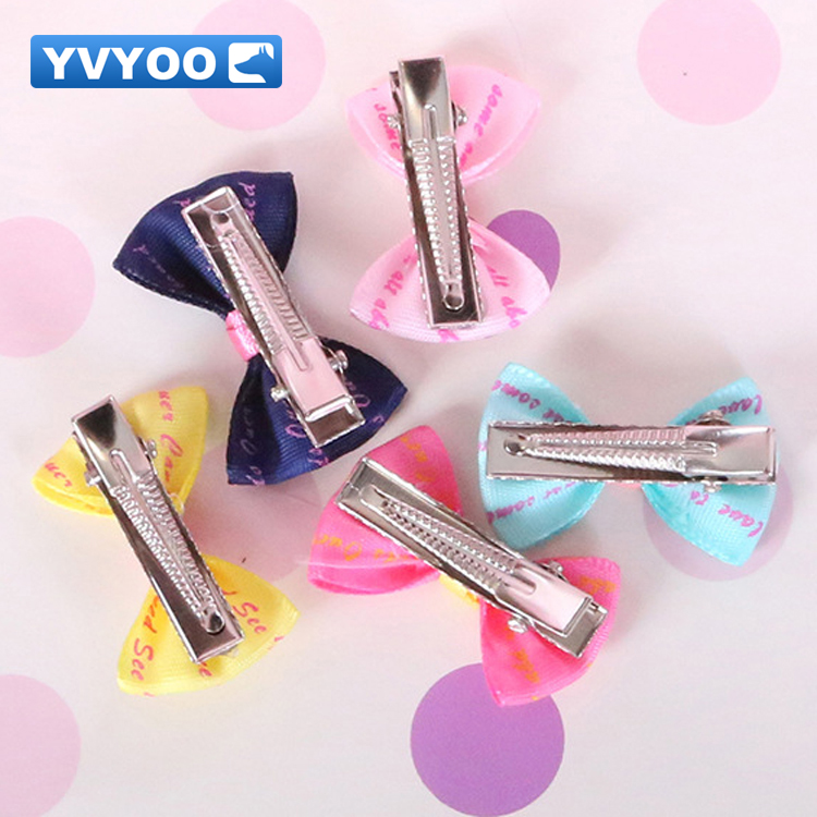 Yvyoo Beautiful Pet Dogs Hair Accessories Colorful Hair Clips Teddy