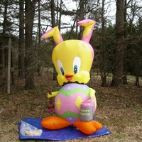 Most Popular Giant 7ft Inflatable Easter Chick for Easter Yard Decoration Sale