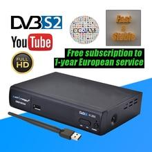 SatXtrem X800 Nova DVB S2 Digital Satellite TV Decoder Full HD 1080P H.265 Web TV Box Youtube IPTV 100M Ethernet Set-top Box