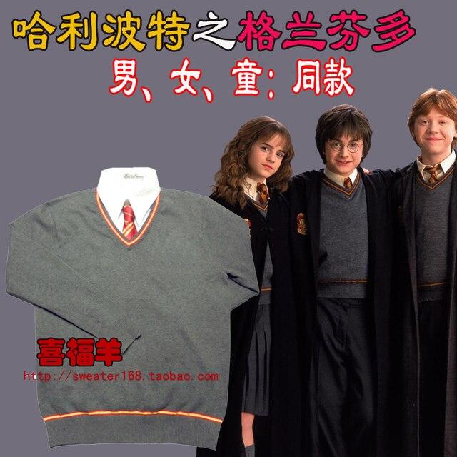 Gryffondor Hermione Cosplay Uniforme De Custom Made Manteau Pull