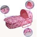 ГАМА ДЕТСКИЕ Портативный Детские Люльки Кровать Детская Кроватка Спальные Люльки Хлопка 100% Безопасный