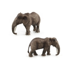 GEEK KING Animal World Zoo animal model toys Figure Action Toy Simulation Lovely Plastic elephant For Kids