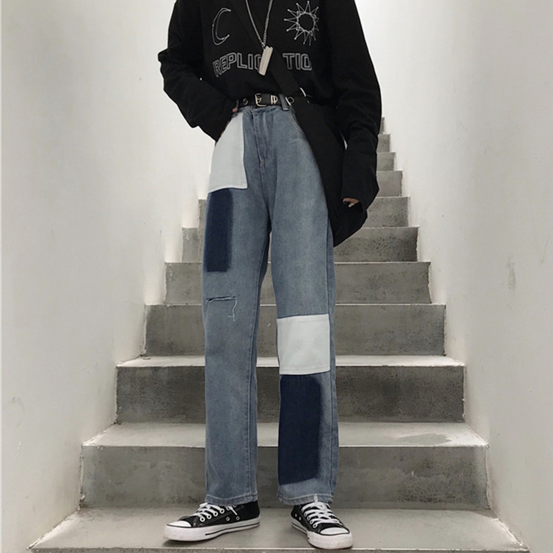 Cheap Wholesale 2019 New Spring Summer Hot Selling Women's Fashion Casual  Denim Pants NC31