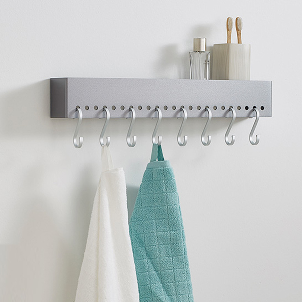 A1 Space aluminum frame wall hanging kitchen storage rack space aluminum frame wall hanging spice rack wx7241747 a1 hotel bathroom washbasin wall hanging solid thickening rack space aluminum wall hanging storage rack wx7201648