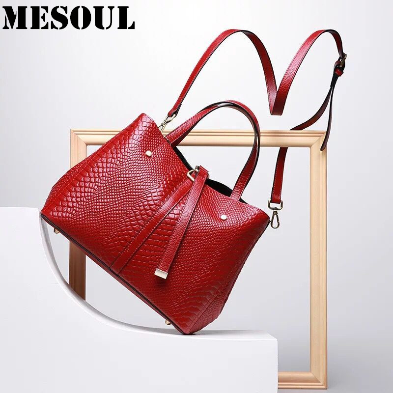 2017 New Serpentine Pattern Handbags Women Bags Genuine Leather Ladies Hand bags Fashion Office Tote Designer Brand Shoulder Bag 2017 new women leather handbags fashion shell bags letter hand bag ladies tote messenger shoulder bags bolsa h30