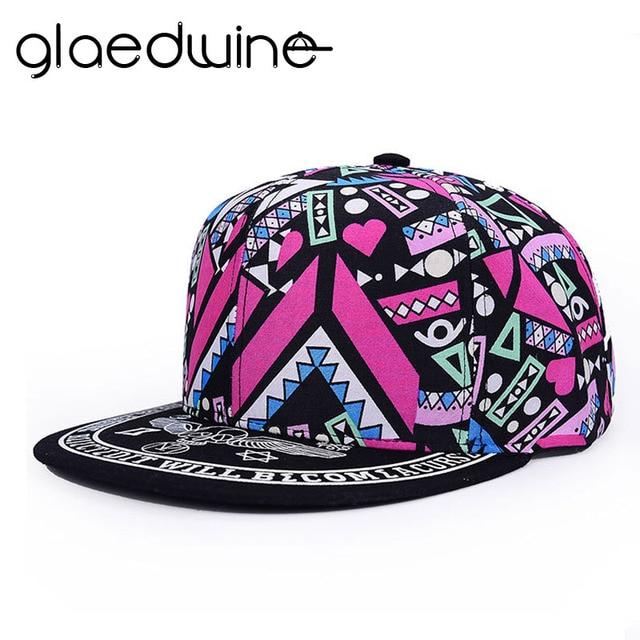 645c9b97c0a Glaedwine Brand 2017 Snapbacks For men Women Gorras Planas Women Cap Hip  Hop Snapback Hats Baseball Caps Casquette Women s hats