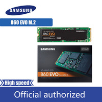 SAMSUNG SSD 500GB 250GB 1TB Internal Solid State Disk 860 EVO M.2 2280 SATA Hard Drive HDD M2 5 years warranty MLC PCLe M.2