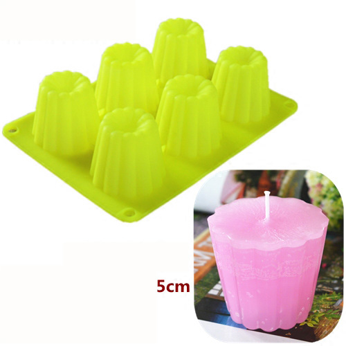 2019 New Fashion DIY Candle Silicone Mold Handmade Candle Making Tool Scented Candle DIY Material Various Shaped Silicone Mold