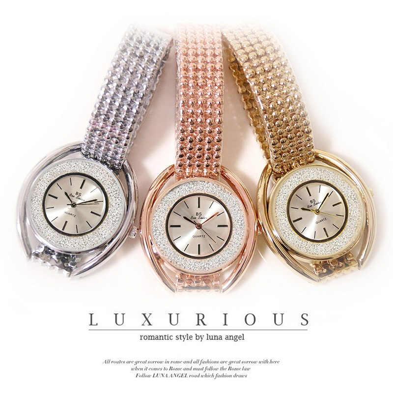 ساعات نسائية فاخرة لعام 2017 فساتين أنيقة شهيرة مرصعة بالألماس ساعة يد نسائية من أفضل العلامات التجارية ساعة يد نسائية ZDJ