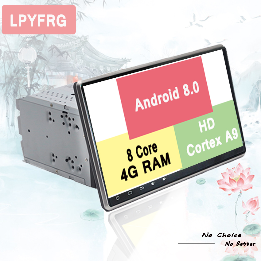 Intellective 8 Core Android8.0 Autoradio Multimedia Stereo Autoradio Pc Tablet Gps Monitor Voor Hyundai Getz Klik Matrix Inokom Tiburon Tuscani