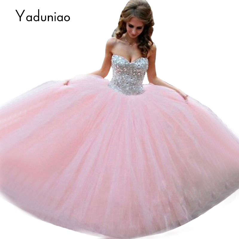 Online Get Cheap Pink Puffy Prom Dresses -Aliexpress.com | Alibaba ...