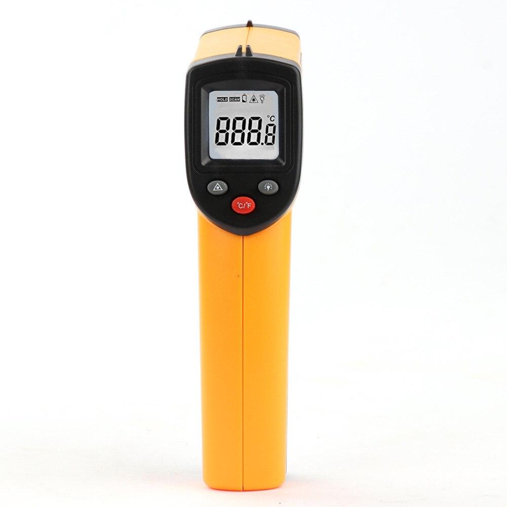 Portatile LCD Digitale Senza Contatto di Temperatura Pistola GM320 Laser IR Termometro A Infrarossi Punto-50 ~ 380 Gradi