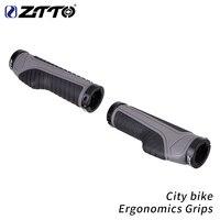 Ztto cidade da bicicleta de ciclismo ergonomia apertos com fechadura alça anti deslizamento para dobrável guiador 22.2mm ag42 1 par|Manopla bic.|Esporte e Lazer -