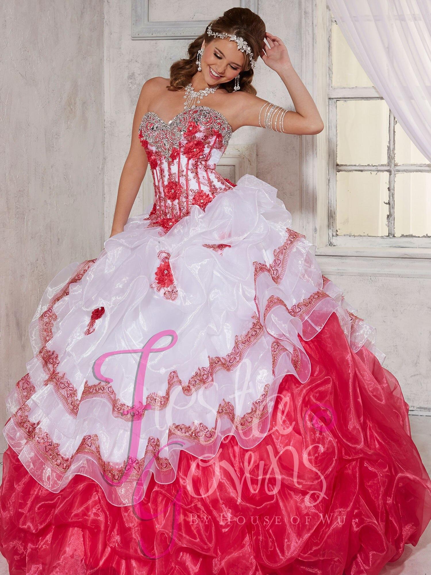 Vistoso Rojos Vestidos De Fiesta Poofy Colección - Ideas de Estilos ...