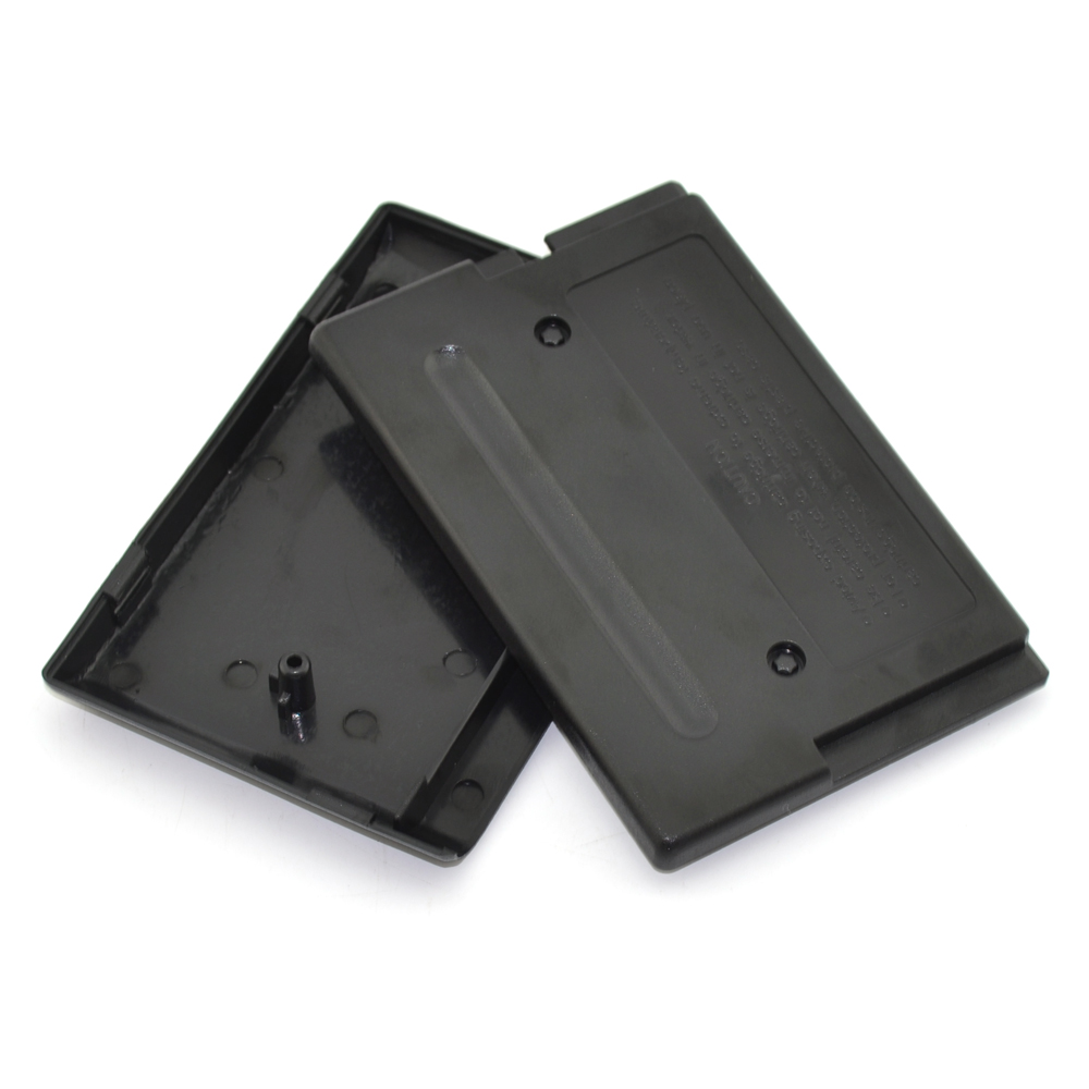 100pcs a lot Game Cartridge Case Replacement Plastic Shell for SEGA MEGADRIVE or GENESIS