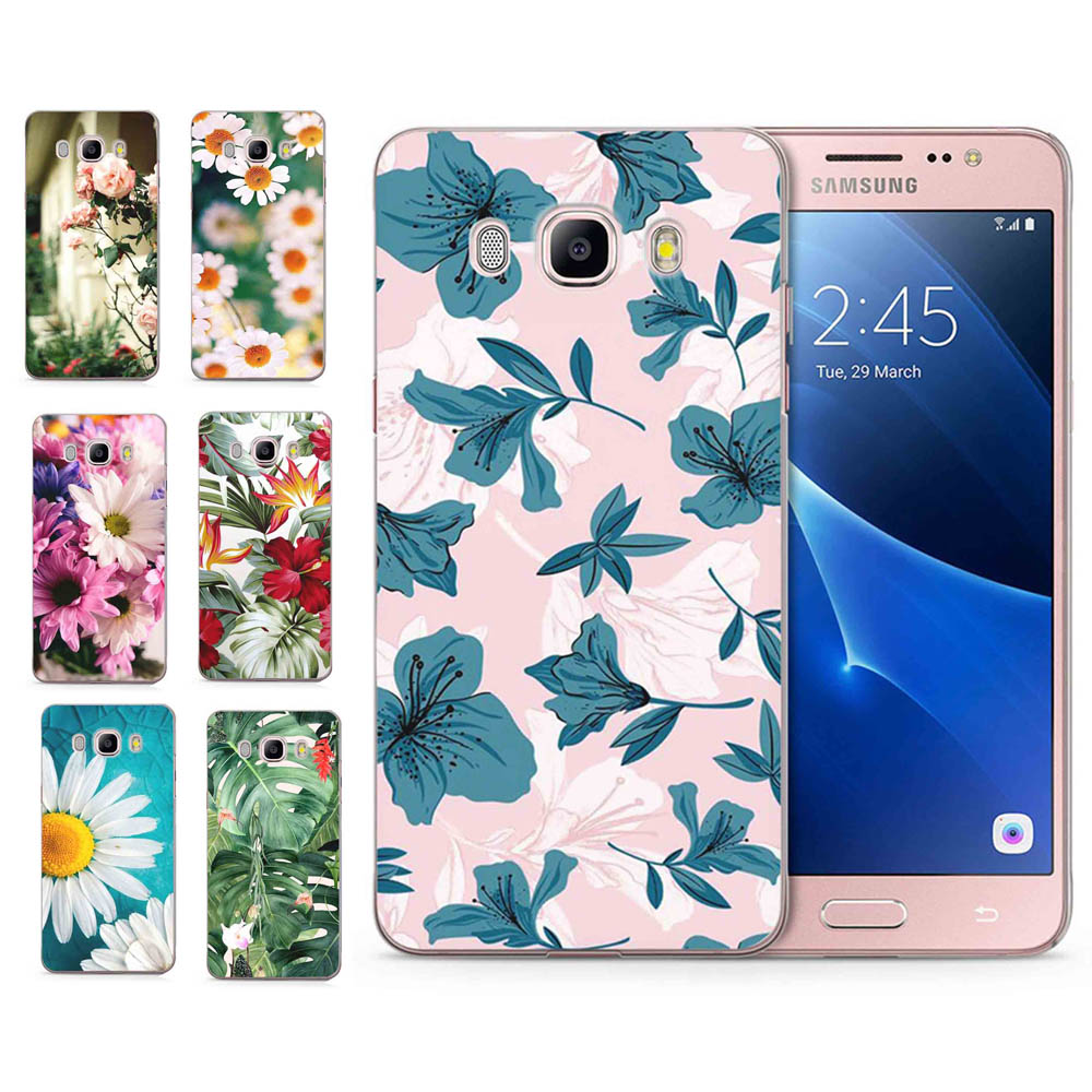For Samsung Galaxy A3 A5 2016 2015 2017 prime J1 J2 J3 J5 J7 G530H S8/plus Note 8 TPU Silicon Colorful Flower Cover Case C099
